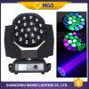 Bewegliche Hauptwäsche 19*15W 4 des Fabrik-Preis-LED in 1 beweglichem Hauptstadiums-Licht DJ beleuchten