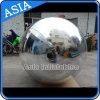 De opblaasbare Reusachtige blauwe Bal die van de Spiegel de Opblaasbare Ballon van de Spiegel van het Product Grote adverteren