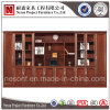 Meuble d'archivage de luxe de livre de meubles de bureau de placage (NS-SL142)