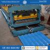 Rolo da telha da etapa da telhadura que dá forma à maquinaria