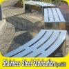 公園のための顧客用公共のステンレス鋼の屋外のベンチシート