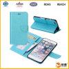 Venta al por mayor hecha en cubierta de la caja del cuero del teléfono de China Mobile