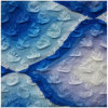 Textil- und Polyester-Druckstoffe, Crepe Finishing, modisch und schön