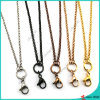 Floating Locket (FN16041801)のための方法Stainless Steel Rolo Chain