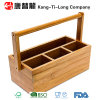 Box en bambou avec Lifting Handle