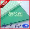 materiais 100% de Vigin Bayer da Gêmeo-Parede de 10mm que telham a folha