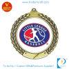 De antieke Medaille van het Honkbal van de Korrel van het Brons 3D