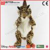 Morral del leopardo del animal relleno para el cabrito