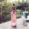 Uso multicolor del día de fiesta de la boda del hogar de la decoración de la luz de la botella de vino que pinta (con vaporizador)
