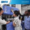 Máquina del moldeo por insuflación de aire comprimido del estiramiento de la sola etapa de la botella de agua del animal doméstico