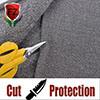 Tela da alta qualidade de F&Z e do nível de desempenho 5 para camisas e sacos resistentes das luvas do corte