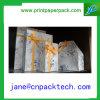 Rectángulo de joyería de encargo del rectángulo de regalo del papel de imprenta de la cinta