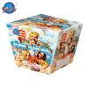30의 탄 칼라 박스 불꽃 놀이 케이크