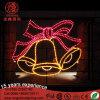 옥외 훈장을%s LED 크리스마스 금 벨 주제 빛
