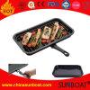 Vaschetta staccabile portatile della griglia dello smalto del acciaio al carbonio/vaschetta del girarrosto per accamparsi