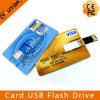 다채로운 인쇄 선전용 선물 신용 카드 섬광 드라이브 USB 지팡이 (YT-3101)