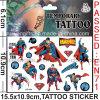 Tattoo шаржа супермена доказательства воды временно (CG054)