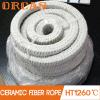 Tipo cuerda de la cuerda del cuadrado del aislante de la prueba de fuego de Lowes del cuadrado de la fibra de cerámica