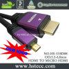 Цена по прейскуранту завода-изготовителя цветастое 2.0V 4k микро- HDMI к кабелю HDMI