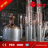 todavía crisol de cobre vestido del vapor 300L para la cerveza que elimina sin el mezclador