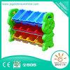 Le jouet en plastique des enfants assortissant l'étagère avec le certificat de CE/ISO