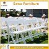 결혼식 임대 사용 백색 강한 수지 접는 의자
