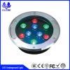 Indicatori luminosi solari portatili variopinti del giardino LED nel sottosuolo