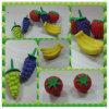 gomme à effacer du puzzle 3D, gomme à effacer de série de fruit