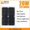 modulo solare del comitato solare di energia solare di 20W 12V