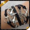 De Europese Armband van de Verkoop van de Stijl Hete, de Armband van de Muziek, de Armband van de Manier van Juwelen (FB051)