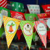 Знамя флага треугольника нестандартной конструкции/знамя вымпела треугольника