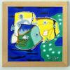 Het ceramische Schilderen met Houten Frame