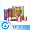Película plástica del acondicionamiento de los alimentos de Pet/OPP/CPP