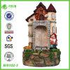 La plus nouvelle décoration de fontaine d'écoulement d'eau de résine de jardin (NF91152-2)
