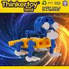 Brinquedo inteletual Desktop plástico do tijolo do edifício das crianças