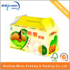 Caja acanalada impresa del acondicionamiento de los alimentos de la caja de la fruta del cartón (AZ122907)