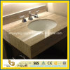 Beige Travertine Marble Vanity Top / Bathroom Top for Interior Decoration