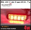Rotes Aufputzmontage-Gitter-Kopf-Licht
