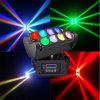 Sale chaud 8*10W RGBW 4in1 DEL Beam Spider Disco Light