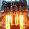 工場供給自動ペットびんの吹く機械