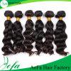 Extensão não processada do cabelo humano do cabelo do Virgin de Remy da venda por atacado quente da venda