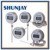 Termômetro digital PT100 usado para alta precisão