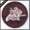 Merrow Border (BYH-10945)를 가진 주문 Round Shape Embroidery Patch