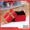 Caja de empaquetado de papel del regalo de la joyería de la buena calidad 2015 para la caja del anillo