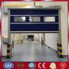Puertas rápidas del balanceo del PVC para la fábrica (YQRD0029)