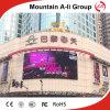 Visualización video al aire libre del uso de alquiler LED de la fábrica P10mm LED de Shen Zhen