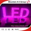 F5 LED rotes Farben-LED herausgestelltes Wort-Zeichen-Zeichen