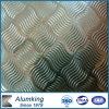 Feuille Chequered/plat/panneau d'aluminium de cinq barres/en aluminium 1050/1060/1100
