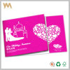 2015 nouveau Design Wedding Invitation Card avec Envelope