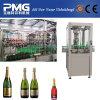 Remplir de lavage automatique de Champagne de bouteille en verre bouchant la machine